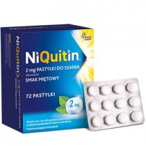 Niquitin 2 mg 72 pastylki do ssania
