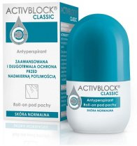 ACTIVBLOCK CLASSIC Antyperspirant pod pachy roll-on 25 ml