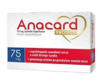 ANACARD Medica protect 75mg 60 tabletek