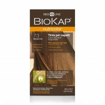 BIOKAP NUTRICOLOR Farba do włosów Kolor 7.3 Złoty Blond 140 ml