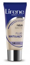 LIRENE Nature Matte Fluid matujący karmel 14 30 ml