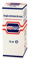 GRIP STOP Krople ochronne do nosa 15 ml