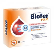 BIOFER FOLIC 60 tabletek