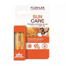 FLOS-LEK SUN CARE Pomadka ochronna do ust z filtrem UV SPF 30