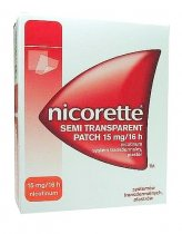 Nicorette Semi Transparent Patch 15 mg / 16 h 7 plastrów